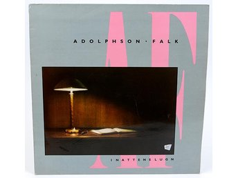 Adolphson-Falk - I Nattens Lugn AIRLP 1018 LP 1986