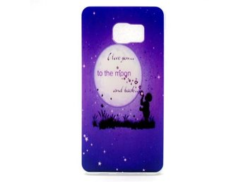 Skal Starry Sky and Quote till Galaxy S6 Edge+ / TPU