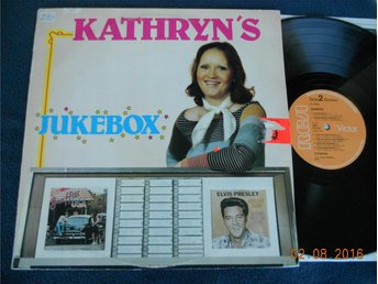 KATHRYN'S JUKEBOX - LP RCA Victor PL 40088, Sverige 1977