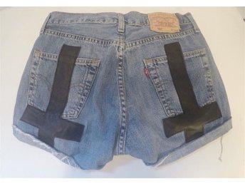 Levis 501 jeansshorts, vintage remade - älvsjö - Levis 501 jeansshorts, vintage remade - älvsjö
