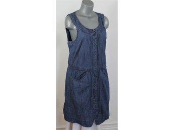 Jackpot, jeansklänning, blå i en ärmlös modell, st. 40 - Landskrona - Jackpot, jeansklänning, blå i en ärmlös modell, st. 40 - Landskrona