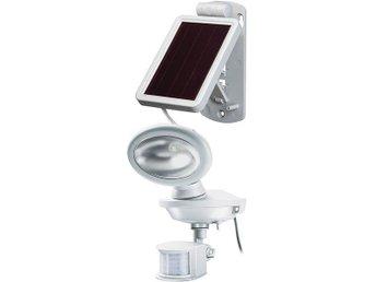 Brennenstuhl Sol 14 Plus, utomhuslampa med rörelsevakt, solcell, vit - Höganäs - Brennenstuhl Sol 14 Plus, utomhuslampa med rörelsevakt, solcell, vit - Höganäs