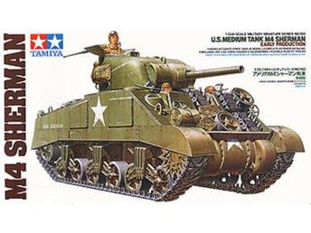Tamiya 1/35 M4 Sherman, early - Lund - Tamiya 1/35 M4 Sherman, early - Lund