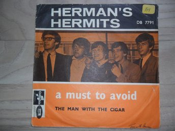"HERMAN´S HERMITS - A MUST TO AVOID / THE MAN WITH THE CAR                ""NORSK"""