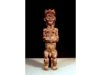 Skulptur från Fangfolket i Gabon i Afrika 59 cm - Vingåker - Skulptur från Fangfolket i Gabon i Afrika 59 cm - Vingåker