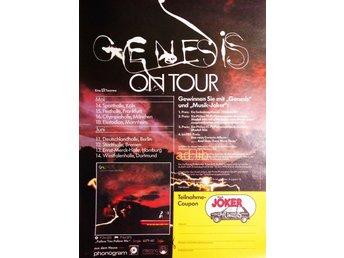 GENESIS - GERMAN TOUR, THIN LIZZY - GERMAN TOUR , TIDNINGSANNONS 1978 - öckerö - GENESIS - GERMAN TOUR, THIN LIZZY - GERMAN TOUR , TIDNINGSANNONS 1978 - öckerö