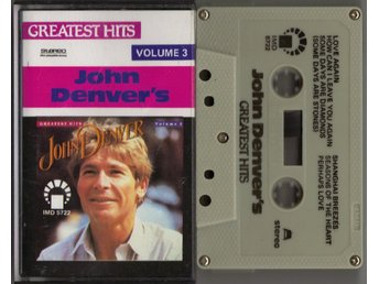 JOHN DENVER - John Denver's Greatest Hits Volume 3 - KASSETT