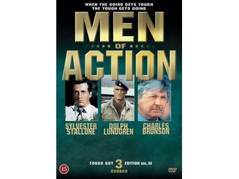 Men of Action / Action Heroes Vol III (3 DVD)