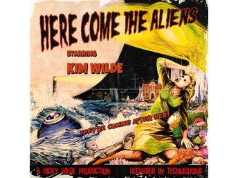 Wilde Kim: Here come the aliens (Yellow) (Vinyl LP)