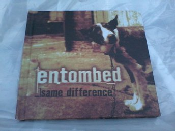 Entombed same difference 2 CD Trecox 027 booklet 2014