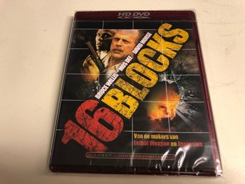 16 BLOCKS (HD DVD) Ny inplastad
