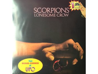 SCORPIONS - LONESOME CROW NY LP MINT