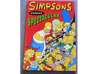 Simpsons Comics Spectacular Häftad bok. ISBN 9781845767365  Titan Books