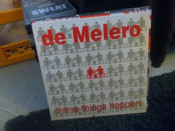 De Melero - These Things Happen (maxisingel)