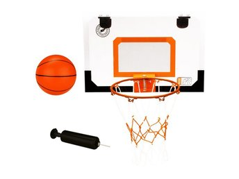 New Port mini basketboll set med ring, boll, pump 16NA