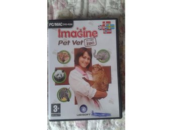 "PC/MAC dvd-Rom ""Imagine pet wet at the zoo"" 3+"