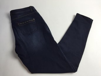 Luxury denim by olivia, Jeans, Strl: 42, Blå