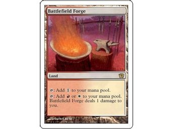 Battlefield Forge FOIL - 9th Edition - NM/M - European - Helsinki - Battlefield Forge FOIL - 9th Edition - NM/M - European - Helsinki