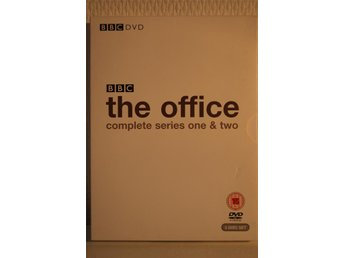 the Office, Säsong 1 och 2, BBC DVD