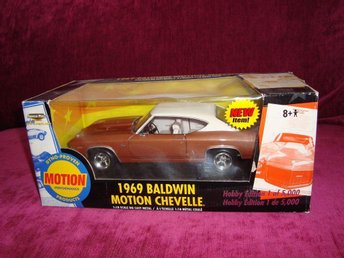 Chevelle Baldwin motion 1969 skala 1:18 ERTL i metall - Uppsala - Chevelle Baldwin motion 1969 skala 1:18 ERTL i metall - Uppsala