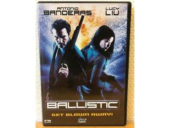 Ballistic - Get blown away! - Antonio Banderas Lucy Liu - DVD action från 2002 - Vellinge - Ballistic - Get blown away! - Antonio Banderas Lucy Liu - DVD action från 2002 - Vellinge