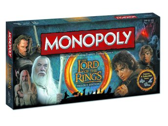 Monopoly Lord of the Rings - Brädspel