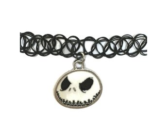 Choker Tattoo Jack Nightmare before christmas Skellington