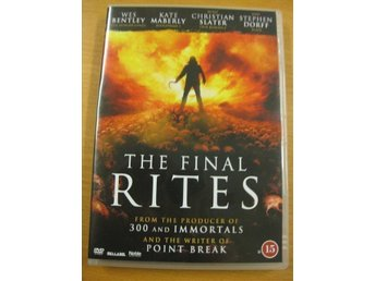 THE FINAL RITES - CHRISTIAN SLATER, WES BENTLEY - DVD 2014