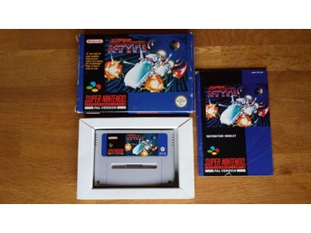 SNES/PAL Super R-Type SCN - Komplett