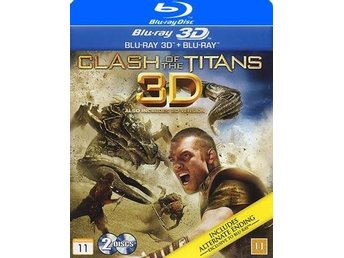 Clash of the Titans (Blu-ray 3D + Blu-ray) i NYSKICK