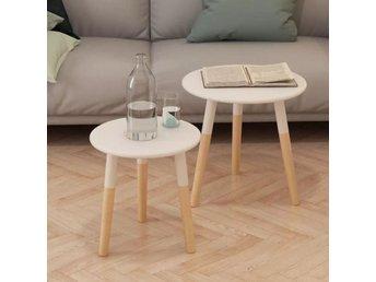 Javascript är inaktiverat. - Sk Venlo - Dessa högkvalitativa sidobord är ett par charmiga möbler i skandinavisk design. De kommer att bli ett bra tillägg i ditt vardagsrum. Det är tillverkat i massiv furu vilket gör sidobordet starkt och robust. De stadiga bordsskivorna i MDF e - Sk Venlo