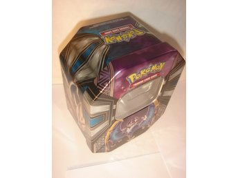 NY TOM POKEMON ORGINAL PLÅT BOX  LUNALA  GX   TIN