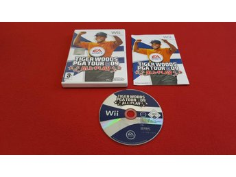 TIGER WOODS PGA TOUR 09 ALL PLAY till Nintendo Wii