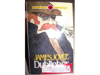"POCKETBOK - ""DUBLINBOR"" av James Joyce,tryckt 1990"