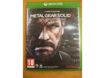 METAL GEAR SOLID V GROUND ZEROES - XBOX ONE SPEL - BRA SKICK