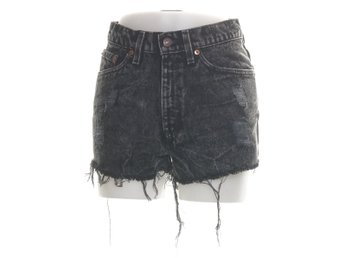 Levi Strauss & Co, Shorts, Strl: S, Svart