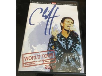 Cliff Richard - World Tour (2003) DVD, bra skick, se bilder