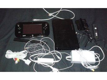 Premium Nintendo Wii U Basenhet, 4 Spel & Alla Tillbehör - Huddinge - Premium Nintendo Wii U Basenhet, 4 Spel & Alla Tillbehör - Huddinge