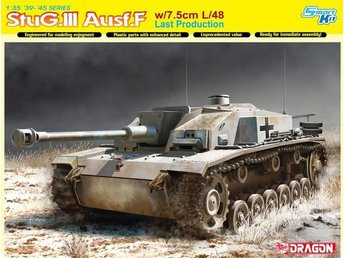 Dragon 1/35 StuG.III Ausf.F w/7.5cm L/48 Last Production - Smart Kit