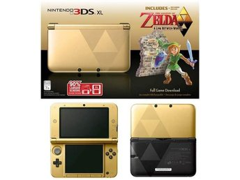 Nintendo 3DS XL (inkl. The Legend of Zelda: A Link Between Worlds) - Limited Edi