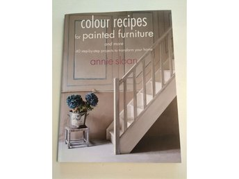 Annie Sloan Chalk paint colour recipes - engelsk text NY!!