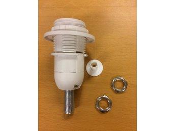 Bra Lamphållare, vit lampsockel E14, gä.. (274894450) ᐈ Lincotrading UY-61
