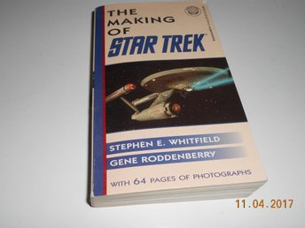 GENE RODDENBERRY - The Making of STAR TREK, pocket Del Rey USA