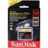 SANDISK CF Extreme PRO 128GB 160 MB/s