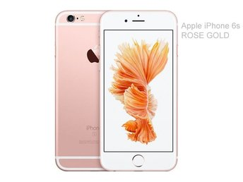 Apple iPhone 6s 32GB, rosa guld, rose gold, PERFEKT SKICK