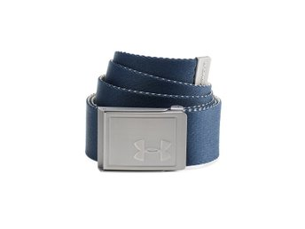Under Armour webbing belt navy/beige