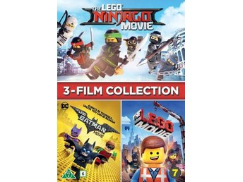 Lego - The 3 movies (3 DVD)