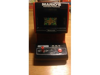 Marios Cement Factory Game & Watch Tabletop Table Top