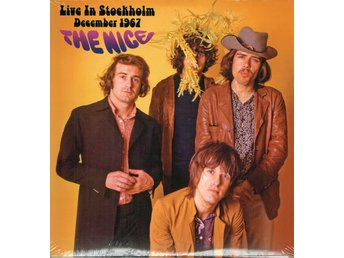 THE NICE - LIVE IN STOCKHOLM DECEMBER 1967. LP