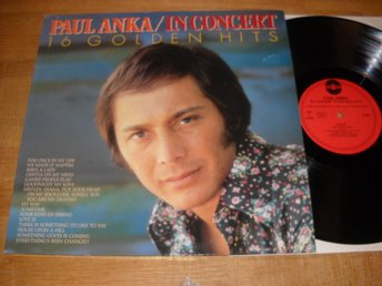 Paul Anka In Consert 16 Golden Hits